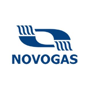 """Логотип """"Новогрудский Завод Газовой Аппаратуры"""" - Novagas"""