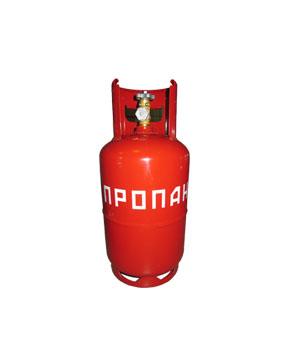 Стальной газовый баллон на 12 литров