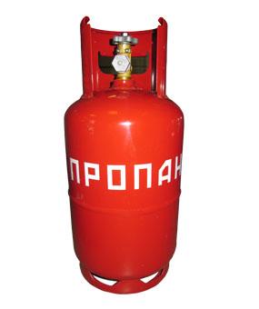 Стальной газовый баллон на 27 литров