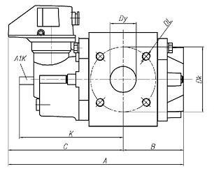 Применение ротационного счетчика газа RABO в шкафных пунктах учета газа