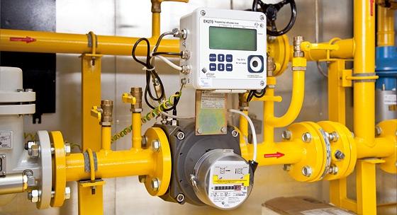 Применение ротационного счетчика газа RABO