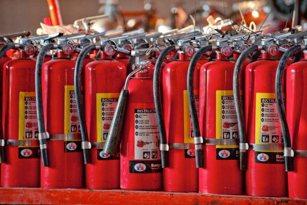 Порошковый огнетушитель - конструкция, применение, правила использования и обслуживание