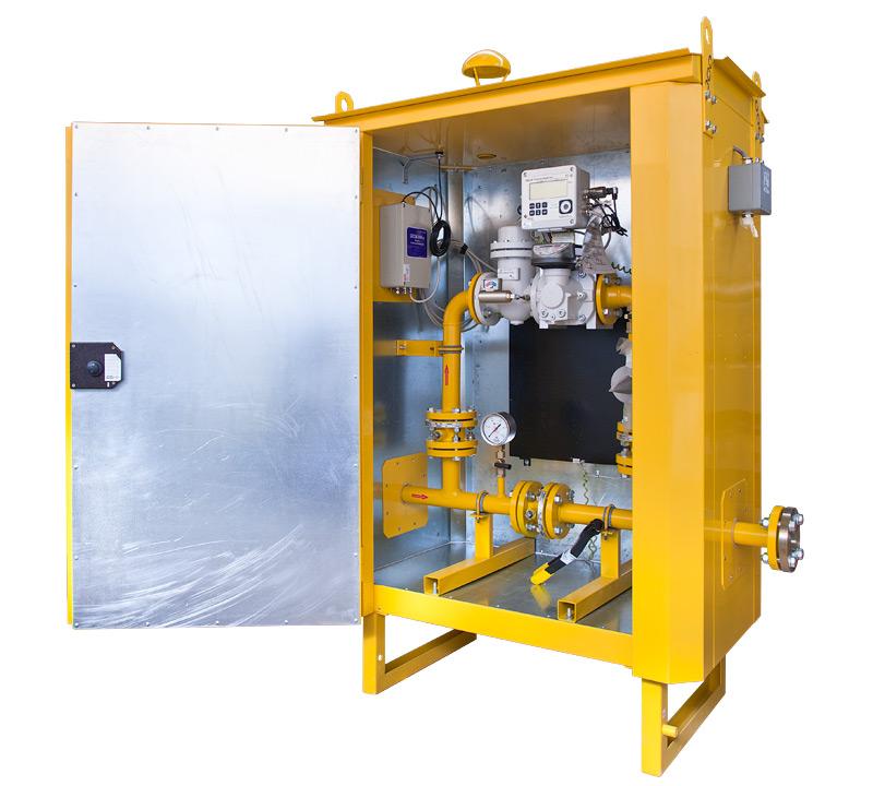 Пункт учёта газа серии ПУГ