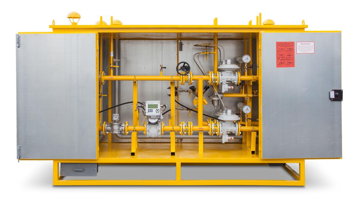 Пункты учета и редуцирования газа ПУРДГ